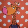Girafe au sucre d'orge.